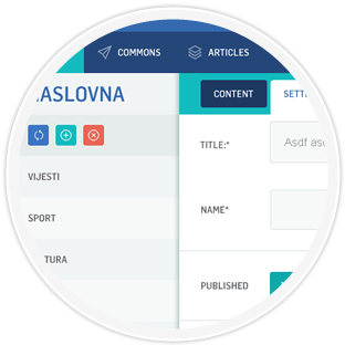 Nora CMS Preview
