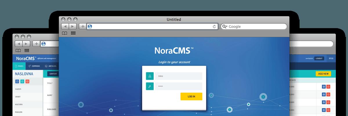 Nora CMS - Efficient Content Management